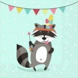 Party Waschbär - Party raccoon - Fête raton laveur
