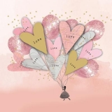 Liebe, Lady & Luftballons - Love, Lady & Balloons - Amour, dame et ballons