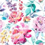 schön gemalte Rosen - beautifully painted roses - roses magnifiquement peintes