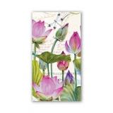 Michel Design - Wasserlilien & Libelle - Water Lilies & Dragonfly - Nymphéas et Libellules