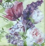 wunderschöne Tulpen & Flieder - beautiful tulips and lilac - belles tulipes et lilas