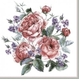 Englische bemalte Rosen - English painted roses - Roses anglaises peintes