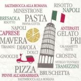 Eiffelturm & italienische Küche - Eiffel Tower & Italian cuisine - Tour Eiffel et cuisine italienne