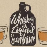 Whiskey ist flüssiger Sonnenschein - Whiskey is liquid sunshine - Le whisky est un rayon de soleil liquide