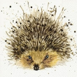 gemalter Igel - painted hedgehog - hérisson peint
