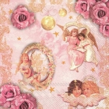 kleine Engel, Rosen & Weihnachtskugeln - little angels, roses & christmas balls - petits anges, roses et boules de noël