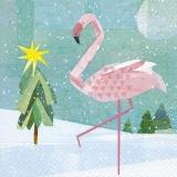 Flamingo im Winter - Flamingo in the winter - Flamingo en hiver
