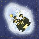 3 Weihnachtssängerinnen - 3 christmas singers - 3 chanteurs de noël