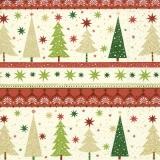 einfache Weihnachtsbäume - simple christmas trees - arbres de noël simples
