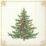 nostalgischer Weihnachtsbaum - nostalgic Christmas tree - arbre de Noël nostalgique