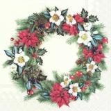 weihnachtlicher Kranz - Christmas wreath - Couronne de noel