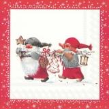 2 niedliche Wichtel - 2 cute gnomes - 2 gnomes mignons