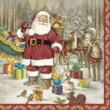 Weihnachtsmann & sein Gefolge - Santa Claus & his entourage - Père Noël et son entourage