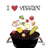 Ich liebe Veggi - I love veggi - Je aime veggi