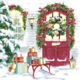 Geschenke vor der Tür - Gifts at the door - Cadeaux à la porte