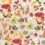 Fliegenpilze, Eicheln, Hagebutten und vieles mehr - Toadstools, acorns, rosehips and much more - Tabourets, glands, églantines et beaucoup plus