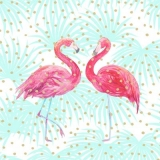 2 Flamingos 2 flamants roses