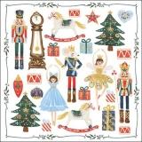 Nussknacker, Weihnachtsmann, Baumschmuck, Schaukelpferd & Geschenke - Nutcracker, Santa Claus, Tree Ornaments, Rocking Horse & Gifts - Casse-Noisette, Père Noël, Décorations en Arbre, Cheval à Bascule