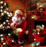 Psst, der Weihnachtsmann bringt Geschenke - Psst, Santa Claus brings gifts - Psst, le père Noël apporte des cadeaux
