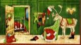 Pause für Weihnachtsmann & Rentier - Sleepy reindeer