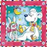 Eisbär &.Schneehase - Polar bear & Rabbit - Ours polaire et lièvre de neige