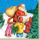 Kinder helfen dem Weihnchtsmann - Kids helping for christmas