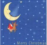 Mondschaukel - Merry Christmas