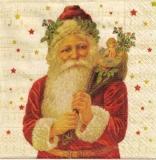Nostalgischer Weihnachtsmann mit Geschenken  - Vintage Santa with gifts - Nostalgique Père Noël avec des cadeaux
