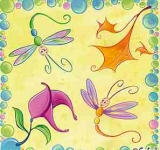 Libellen - Frühlingsflattern - Dragonflies flutter - libellules flottant au vent