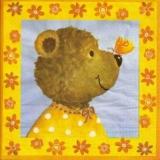 Teddy bear & butterfly