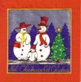 Familie Schneemann - Snowman family