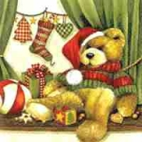 Weihnachtsteddybär