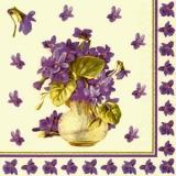 Veilchen in der Vase - Violets in a Vase - Violettes dans un vase