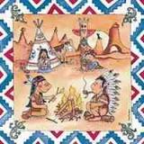 Vielseidig - Indianerlager