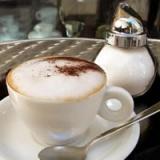 1 Tasse Kaffe im Bistro
