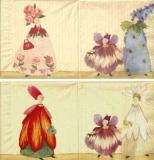 Blütenfrauen - Blossom ladies