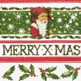 Nostalgischer Weihnachtsmann - Merry x-mas