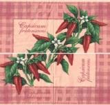 Capsicum frutenscens - Paprika - Chili - Red peppers- piment doux