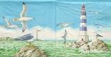 Leuchtturm & Möwen - Lighthouse & Seagulls