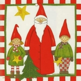 Kinder & der Weihnachtsmann