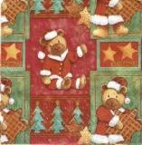 13 süße Weihnachtsteddies - 13 cute christmas plush bears - 13 ours en peluche de Noël