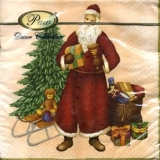 Santa am Heilig Abend