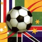 World cup - Fußball und Flaggen - Fottbal & Flags - Football et drapeau