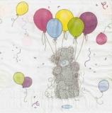 Teddy mit Ballons - Tatty Teddy