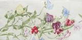 Schmetterling, Zitronenfalter auf Wickenzweig, Erbsenblüten - Butterfly, Lemon Emigrant &  pea blossoms - Papillon & fleurs de pois