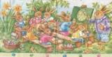 Schule für Osterhasen - School for bunnies - Ecole pour les lapins
