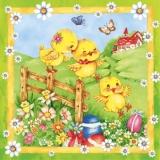 Schöne bunte Osterzeit - Happy Easter time - Temps de Pâques heureux