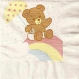 Kleiner Teddy auf dem Regenbogen